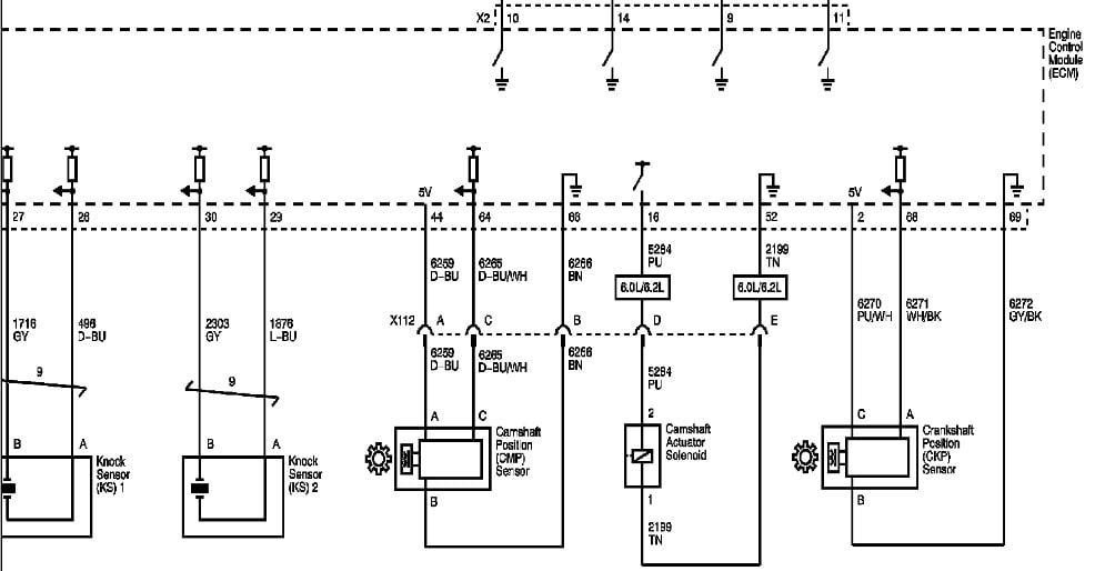codigo p0651 voltaje b de referencia de sensor circuito