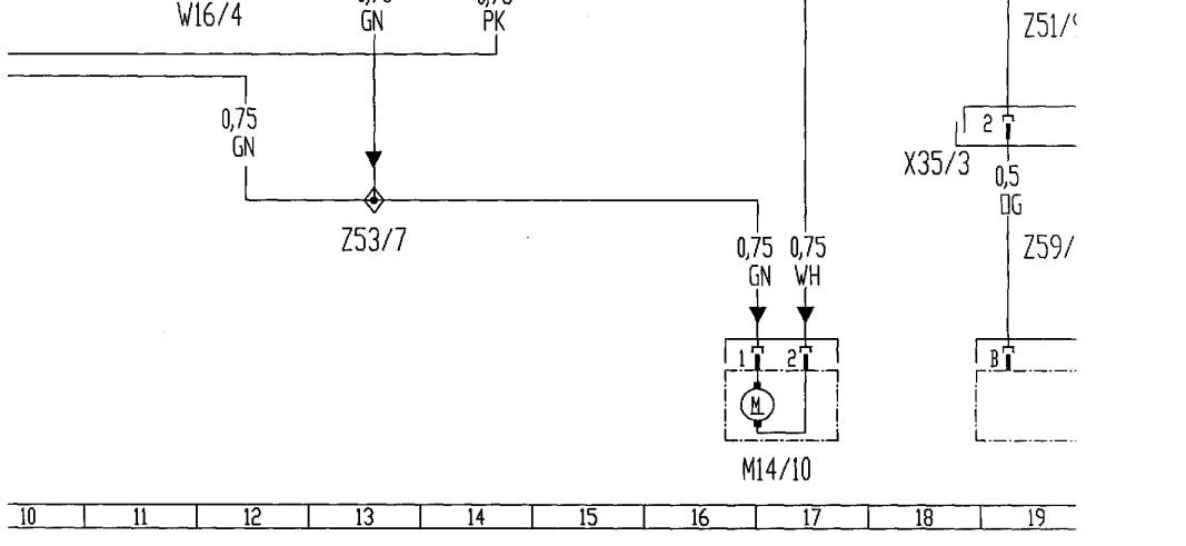 problema de limpiaparabrisas delantero ml270cdi carroceria