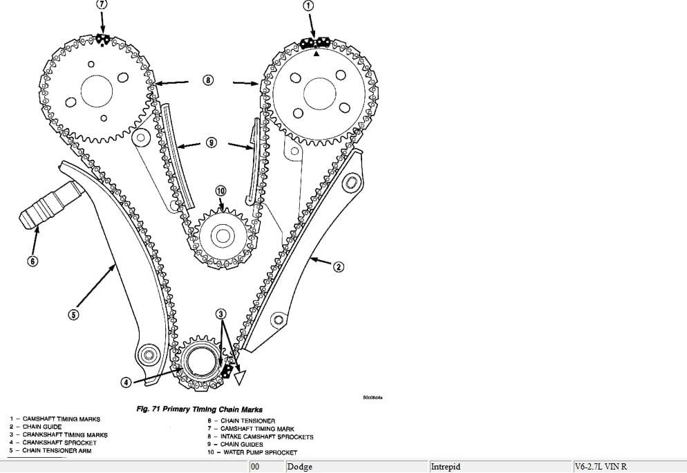 nissan maxima diagrama de la cadena del tiempo motor 3000