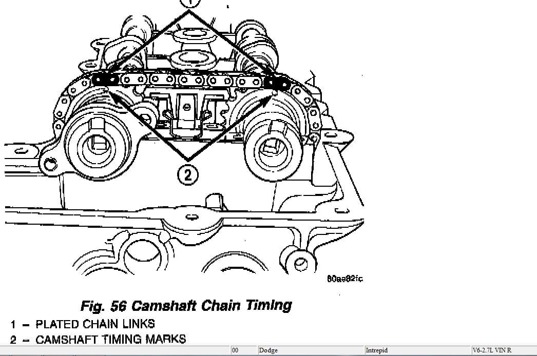pin diagrama cadena tiempo motor gratis ford docus