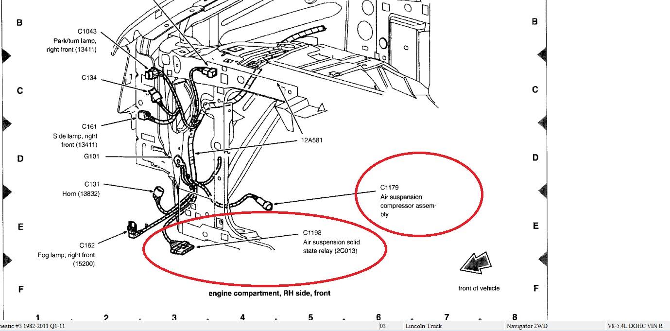 hola  tengo lincoln navigator 2003  hace una semana se da u00f1o