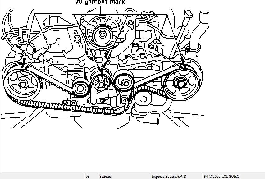 necesito ayuda para arreglar mi carro 1993 subaru impreza 1 8