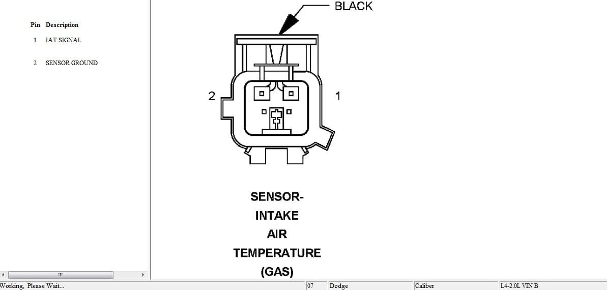 u00bfme puede decir d u00f3nde est u00e1 el sensor iat en un dodge caliber