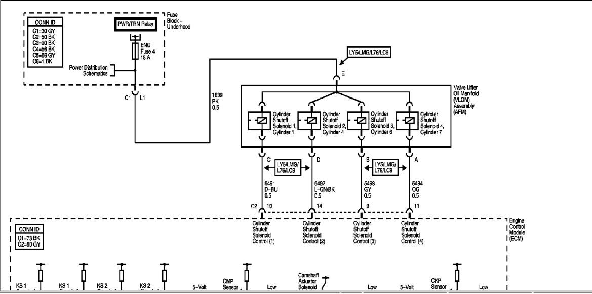 mi gmc yukon denali 2008me marca una falla en sensor de  u00e1rbol
