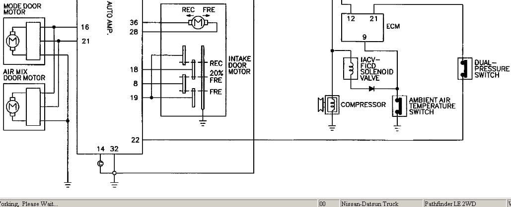 como encuentro el diagrama electrico de ni nissan pathfinder