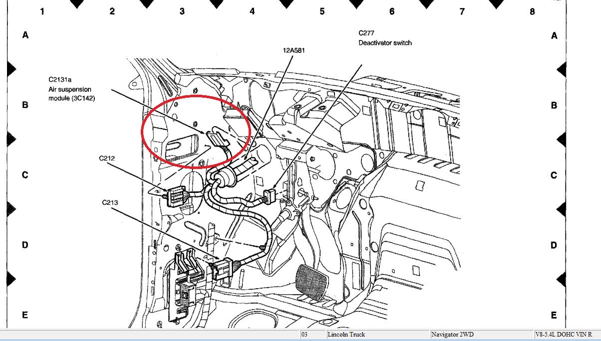 hola tengo un problema mi navigator 2003 no funciona compresor