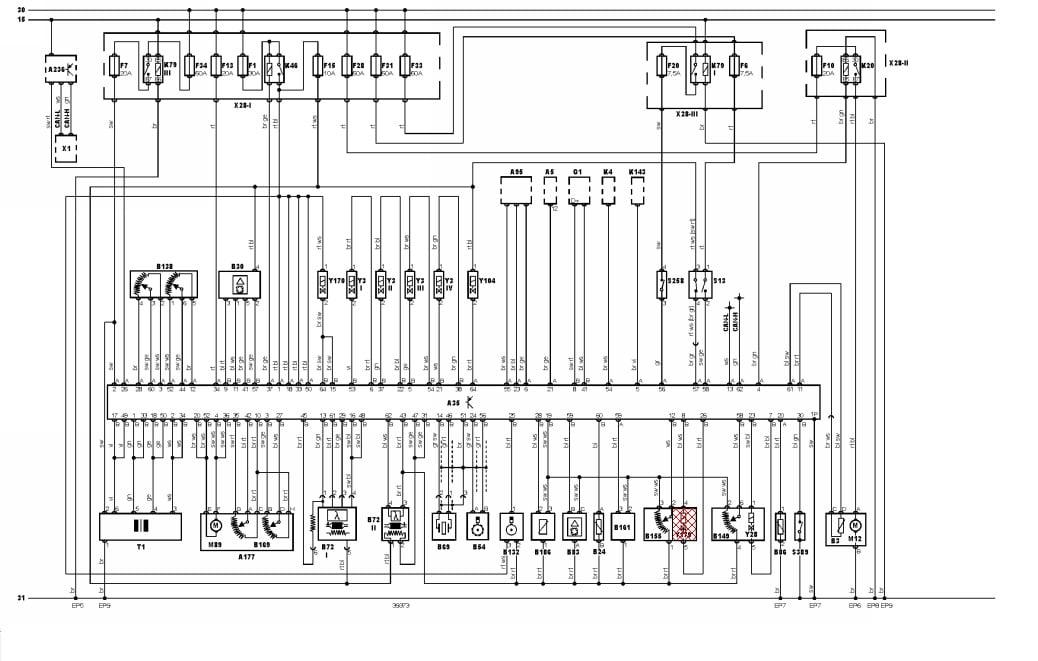 necesito el diagrama de todo el alambrado el u00e9ctrico en co