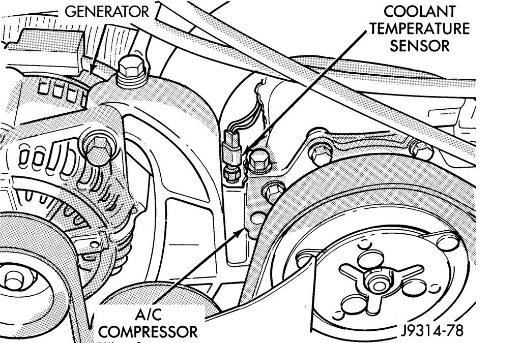Donde Lleva El Sensor De Temperatura De Refrigerante El Que